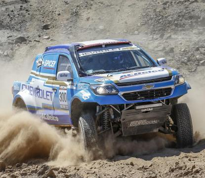 Foto: Chevrolet Dakar Team