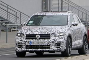 VW T-Roc R 2019, fotos espía